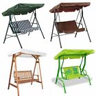 Garden Swing Chair Seat Outdoor Bench Patio Hammock Bench 2/3 Seater Cushioned