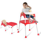 3 in 1 Baby High Chair Convertible Table Seat Toddler Feeding Highchair 3 Colors