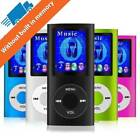 Mp3 Mp4 Player 64 GB Digital Compact Portable Photo Viewer Voice Recorder Fm TF