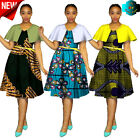 African Dresses Plus Size Women Fashion Dress Traditional Print Clothing | #131