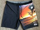Внешний вид - $65 BRAND NEW HURLEY PHANTOM CLARK LITTLE MENS BOARD SHORTS 40 x 20