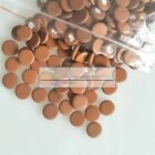 50pcs clarinet pads brown color leather pads 7mm-17mm variety of size