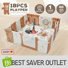 Multi ABST Sided Panel Baby Playpen Interactive Kids Toddler Room W/ Safety Gate