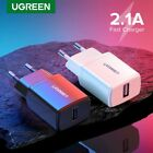 Ugreen 5V 2.1A USB Charger for iPhone Samsung LG Fast Wall Charger EU Adapter $9.99 USD on eBay