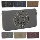 New Laser Cut Hollow Out Faux Leather Ladies Large Purse Wallet