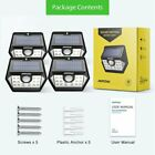 Mpow 20 LED Solar Lights Super Bright Motion Sensor IPX5 Outdoor Security Light