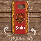 HARRY POTTER GRYFFINDOR HOUSE PERSONALISED NAME HARD PHONE CASE COVER SAMSUNG