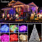10M 100 LED Christmas Fairy Wedding Party Lights String Waterproof + Tail Plug