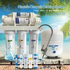 5 STAGE REVERSE OSMOSIS RO MEMBRANE WATER FILTER SYSTEM 50-150GPD FILTER NO PUMP