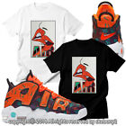 CUSTOM TEE matching T SHIRT Air More Uptempo What The 90s UTP 1-33-11 image