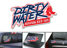 Boston Red Sox Dirty Water Vinyl Decal on Ebay