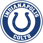 Indianapolis Colts Circle Logo Vinyl Decal / Sticker 5 sizes!! on eBay