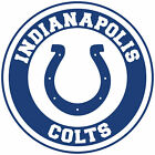 Indianapolis Colts Circle Logo Vinyl Decal / Sticker 10 sizes!! $5.99 USD on eBay