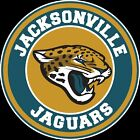Jacksonville Jaguars Circle Logo Vinyl Decal / Sticker 5 sizes!!