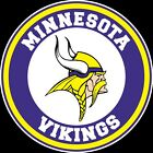 Minnesota Vikings Circle Logo Vinyl Decal / Sticker 5 sizes!!