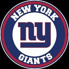 New York Giants Circle Logo Vinyl Decal / Sticker 5 sizes!!