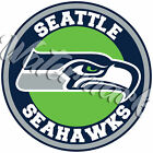 Seattle Seahawks Circle Logo Vinyl Decal / Sticker 10 sizes!! $5.99 USD on eBay
