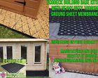 SHED GRID PLASTIC SLAB BASE+HEAVY DUTY MEMBRANE -ECO BASE PLASTIC PAVING FLOORem