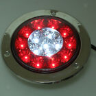 Car Truck Trailer 12-24V Bi-Color LED Taillight Rear Brake Signal Light ATV