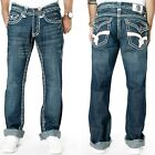 Laguna Beach Men's Jeans - Hand Made in USA - Boot Cut - Comfort Fit W32-33