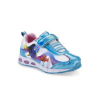 Внешний вид - Disney Girl's Light-Up Sneaker Toddler Finding Dory & Nemo White/Blue Cushioned