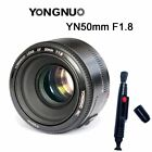Yongnuo YN 35mm 50mm 85mm 100mm 50mm II AF MF Prime Fixed Lens for Canon EOS