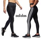 ✅NEW!! WOMENS ADIDAS ESSENTIAL 3 STRIPE TIGHT ACTIVE TIGHT