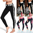 US STOCK Women Sports Gym Yoga Running Fitness Leggings Pants Jumpsuit Athletic
