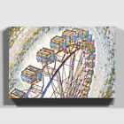 Print on Canvas | Premium Wall Art | Ferris Wheel Fair Carnival (4)