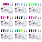 Elite99 Colors Gel Nail Polish Soak Off UV LED Nail Art 6pcs