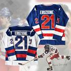 Mike Eruzione 21 Miracle on Ice USA Hockey Jersey
