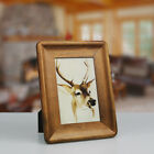 Handmade Picture Frames Solid Wood Wall Mounting Desk Photo