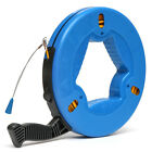 Fiber Glass Fish Tape Reel Puller 45M 60M 70M Electrical Cable Puller Measuring