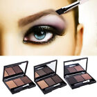 3 Color Pallet Eyebrow Powder Eye Shadow Smoky Eyes Cosmetic