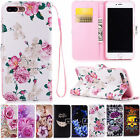 PU Leather Case Card Slot Flip Cover Stand Folding For Smartphone Models