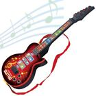US KIDS Boys Plastic Electric Guitar MUSICAL TOY MINI GUITAR 4 STRINGS Xmas GIFT