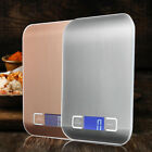 Digital Scale Weight Gram Pound Kitchen food Postage Glass LCD display 5Kg/1g