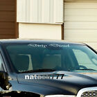 DIRTY DIESEL Car Truck SUV Sport 4x4 Windshield Vinyl Decal sticker emblem logo $20.76 USD on eBay