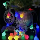 Outdoor String Lights Christmas Light Led Holiday Party Lighting Decoration Wire