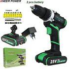 ANEERPOWER® 25v Plus Drill Electric Drill Electric Battery Screwdriver Cordless