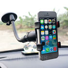 Car Rotating Phone Windshield Mount GPS Holder Universal 360° For Samsung iPhone