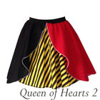 Womens Halloween Costume MAD HATTER / QUEEN OF HEARTS / Fancy Dress Costumes