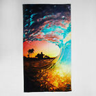 City Beach Slowtide Rainbow Shaved Ice Towel