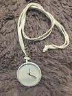 Long Color strap pendant Quartz Watch Necklace leather Chain Pendant Gifts