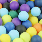 Внешний вид - 10/50/100pcs Lot ABS Frosted Colorful Table Tennis Ping Pong Balls Training Game