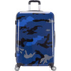 """inUSA Luggage Prints 28"""" Lightweight Hardside Checked Large Rolling Luggage NEW"""