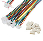 Micro Mini JST Stecker 1.0 - 2.5 mm / 2 - 12 Pin SH GH ZH PH XH EH SM inkl Kabel