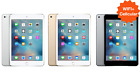 UNLOCKED iPad Mini 1 2 3 4 ✤WIFI+LTE✤ 16GB 32GB 64GB 128GB Black White Gold