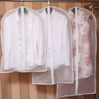 Clear Dust-proof Dress Clothes Cover Suit Dress Garment Bag Storage Protector BN