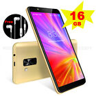 """6"""" 16GB Android 8.1 Smartphone 4 Core Dual SIM Celulares Unlocked 3G Cell Phone"""